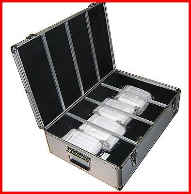 Private 10x1000 CD DVD Silver Aluminum Case plus 1x 840 Mess Free Silver Storage