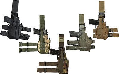 DROP LEG  GUN PISTOL HOLSTER TACTICAL NEW UNIVERSAL RIGHT ARMY BELT POLICE SWAT