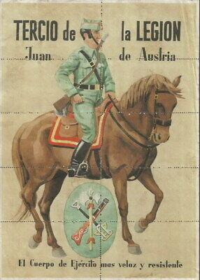 0920 Tercio De La Legion Juan De Austria Benicarlo-castellon Cupones Racionamien 100% Materiales De Alta Calidad