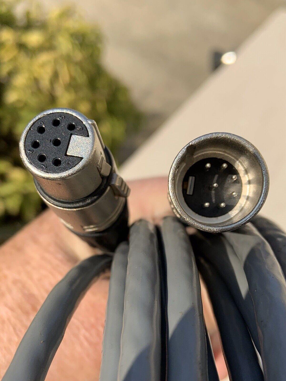7 Pin XLR Cable - 25'