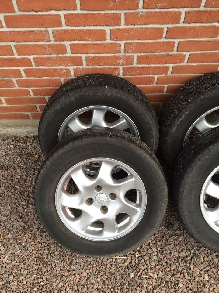 Alufælge, fælge med dæk