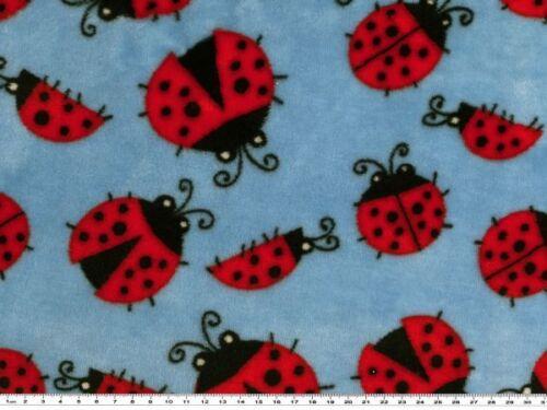 Käfer 150cm hellblau-rot Superflausch