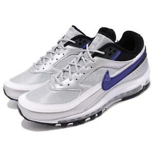 separation shoes 120b9 a14bd Image is loading Nike-Air-Max-97-BW-Metallic-Silver-Violet-