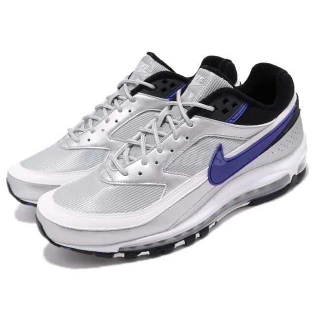 finest selection 4055c a42d9 Nike Air Max 97 BW Metallic Silver Violet Men Running Shoes Sneakers  AO2406-002