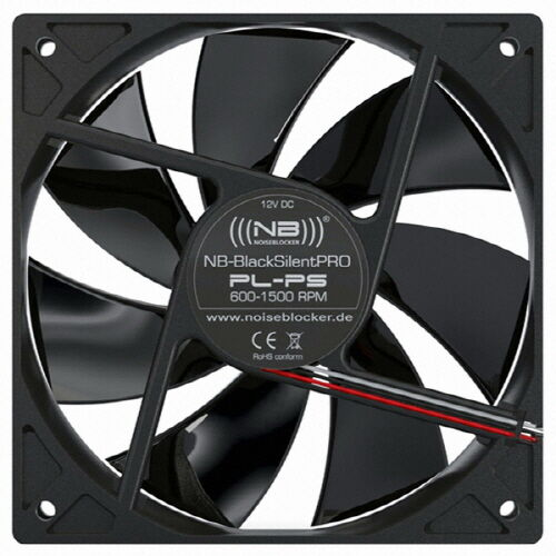 [BlackNoise] NB-BlackSilentPRO PL-PS, 120mm Case Fan, 4pin, PWM, high-quality
