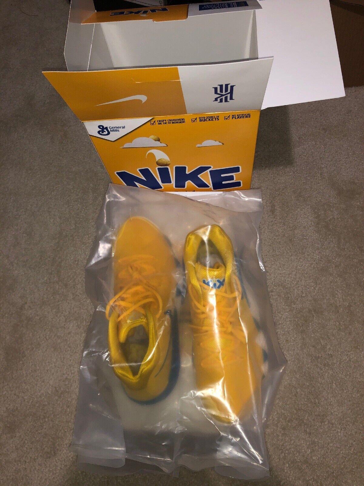 Nike LIMITED Kyrie 4 Cereal Pack  KIX  avec Package Spécial Homme Sz 9.5 NEUF avec boite