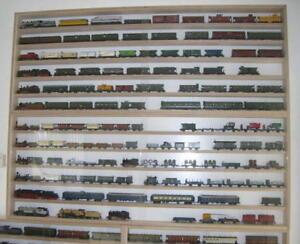 VitrinenSchmidt-Spur-N-Vitrinen-Modelleisenbahn-Breite-60cm-170cm-grosse-Auswahl