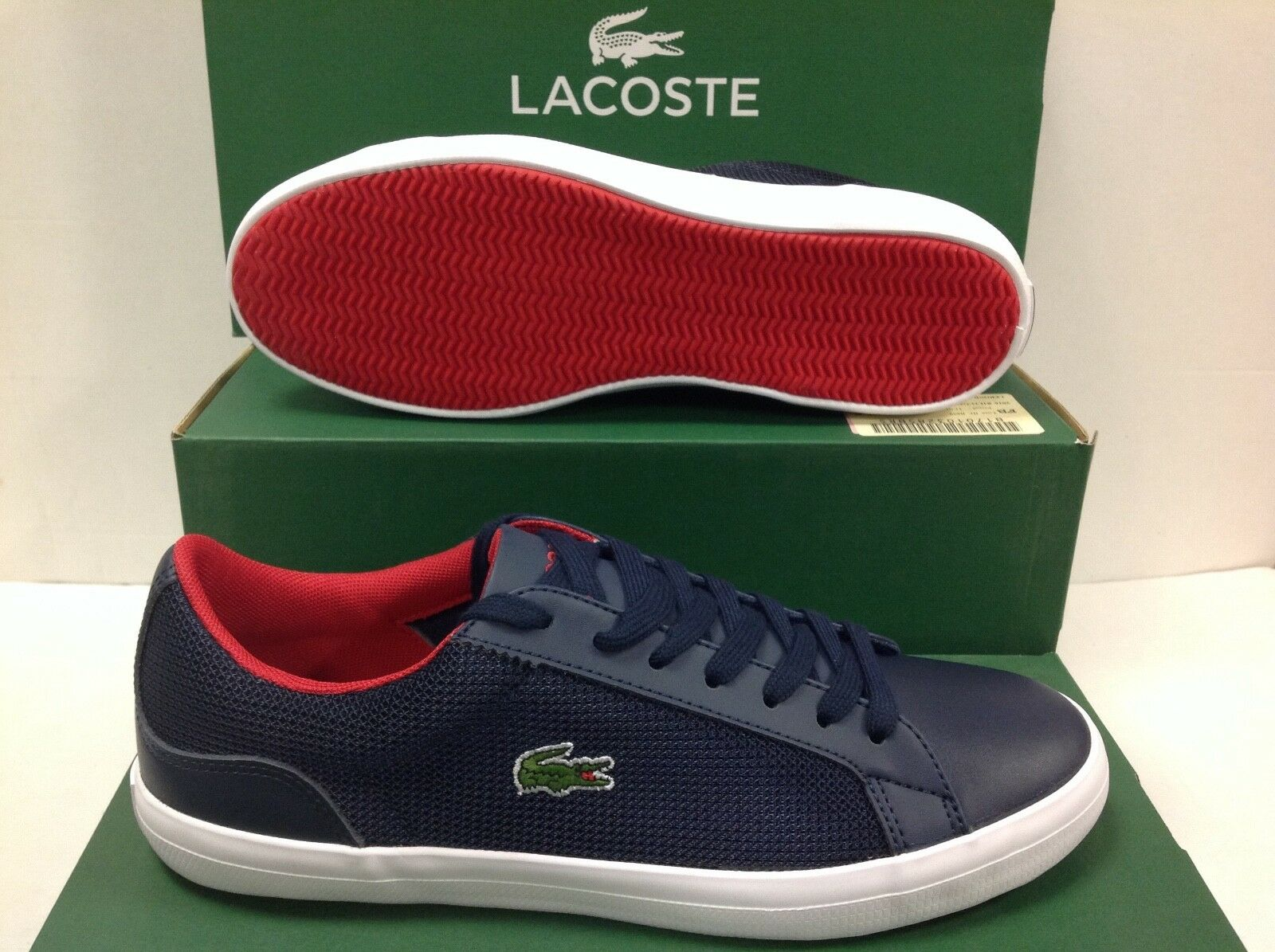 Lacoste LEROND 116 Men's Sneakers Trainers, Size     USA 7.5