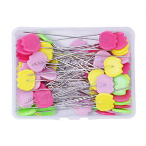 Tulip Pins Patchwork Flat Head Quilting Sewing Dressmaking Tool Needle DIY Craft