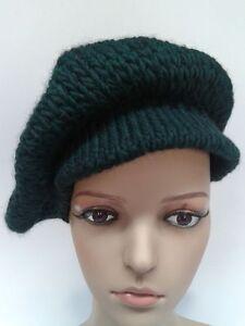 Caricamento dell immagine in corso Cappello-donna-basco-lavorato-maglia-moda -MADE-ITALY- e0e1066ce6b2