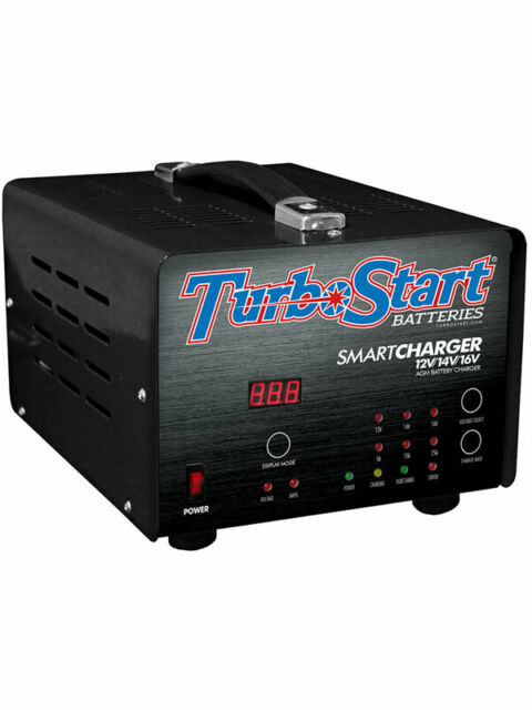 Turbostart Charger 240V 25 Amp Multi Stage. 12V 14V 16V Bat (SCHG25AE)