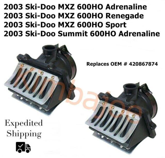 2007 Ski-Doo MX-Z 600 H.O SDI Renegade X Carburetor Mounting Flange