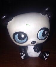 Littlest Pet Shop Panda Bear Black White Blue Eyes #90 2005 Hasbro LPS Friends