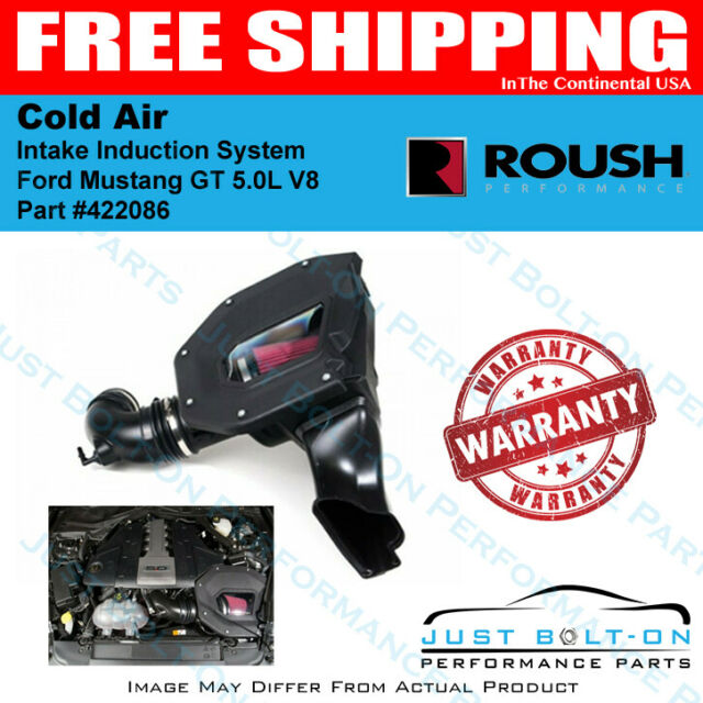 Roush 422086 Cold Air Intake Induction System 2018-2021 Ford Mustang GT 5.0L V8