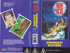 NEW KIDS ON THE BLOCK OVERNIGHT SUCCESS VHS VIDEO PAL~ A RARE FIND