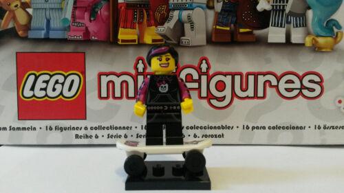 LEGO® 8827 Minifiguren Serie 6 Nr 12 Skater Girl Neu /& Unbespielt