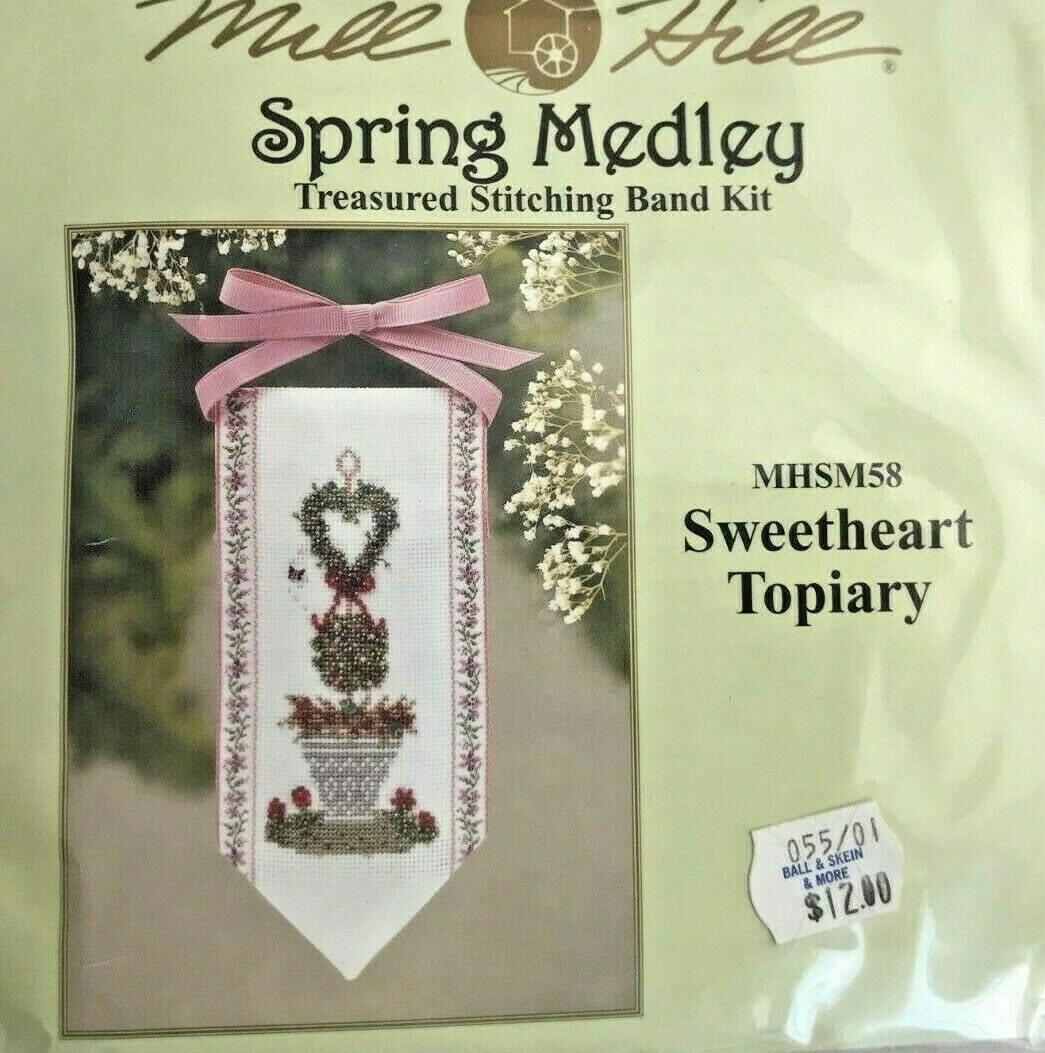 Mill Hill Treasured Stitching Band Kit *CHOICE* Counted Glass Bead Cross Stitch