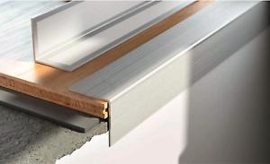 Aluminium Stair Nosings Step Edge Nosing For Laminate