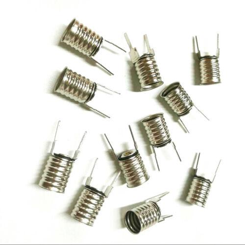 Electric E10 small bulb holder E10 screw 2pin type socket X100