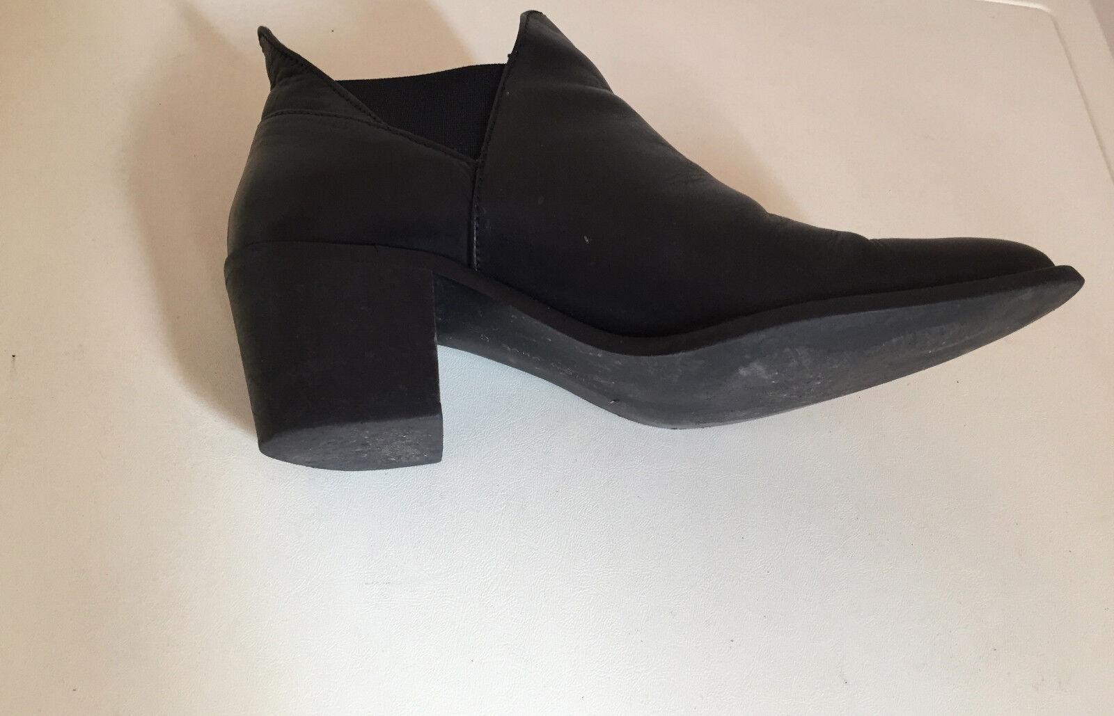 ZARA WOMAN schwarz ANKLE Stiefel Größe UK 4  | Qualität Produkte