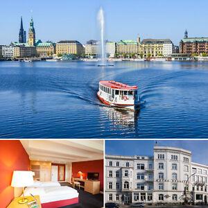 Hamburg erleben - Relexa Hotel Bellevue 3 Tage Top Lage Kurzurlaub Städtereise
