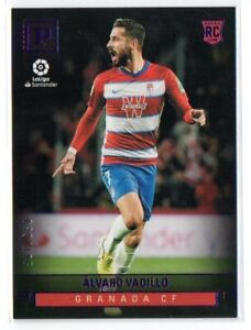 2019-20 DLVARO VADILLO CHRONICLES SOCCER PANINI LA LIGA RC PURPLE #d 039/105
