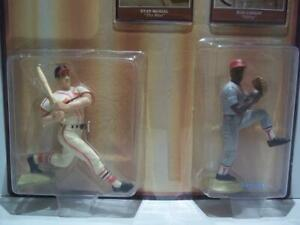 Starting Lineup Baseball Greats Stan Musial & Bob Gibson 1989 - In Package