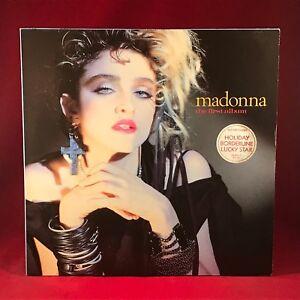 Madonna-Madonna-The-First-Album-1985-UK-Vinyl-LP-EXCELLENT-etat-meme-G