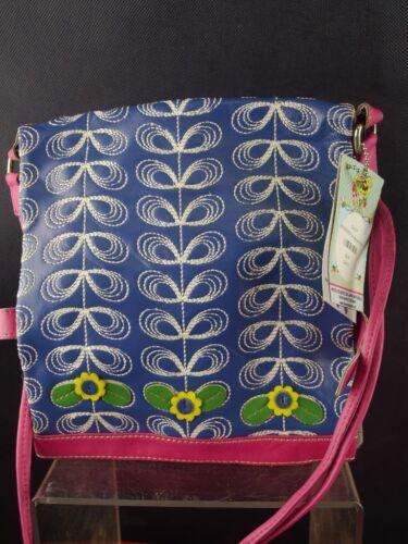 Taj Wood Scherer Evergreen Bag Wendetasche blue Damentasche Handtasche K1901-379
