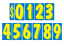 Car-Dealer-Windshield-Stickers-11-Dzn-Pricing-Numbers-You-Pick-Color-7-1-2-Inch thumbnail 8