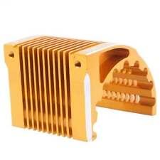 RC 1/8 Hobbywing Castle leopard Motor 4274 4268 1515 Heat Sink 42mm Gold Part