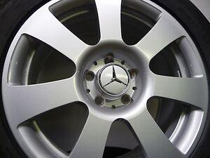 Original-Mercedes-S-Klasse-17-Zoll-Alu-Sommerraeder-Sommerreifen-Sommer-221