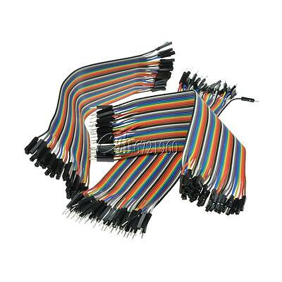 120pcs Dupont Wire Male to Male + Male to Female + Female to Female Jumper Wire