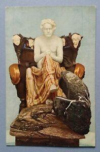 Old-Postcard-Sculpture-Plastic-Monument-Max-Klinger-Beethoven