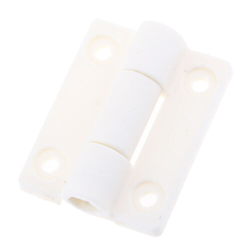 36mm x 30mm Cabinet Cupboard Door Plastic Butt Ball Bearing Hinge White