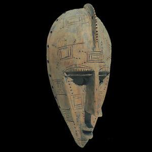 an authentic old antique african mask maraka marka mali