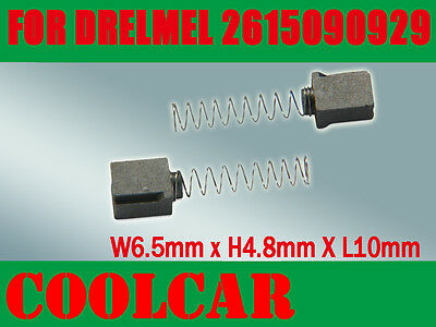 395  1 /& 2 285 Carbon Brushes Fr 2615090929 90929 DREMEL 275 moto tool