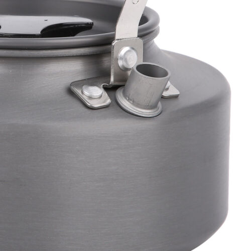 1.1L Outdoor Camping Hiking Water Kettle Portable Coffee Pot Teapot Picnic Set