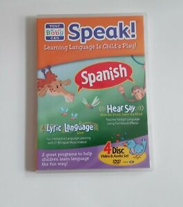 Your Baby Can Speak Learn SPANISH Hear Say Lyric Language ...
