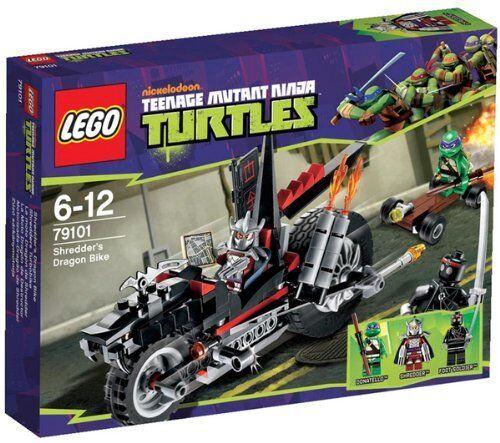 LEGO 79101 LEGO TURTLES TURTLES TURTLES LA DRAGOMOTO DI SHrotDER LEGO TARTARUGHE NINJA NUOVO 5f124a
