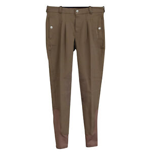 """Mark Todd Mens Auckland Breeches Funghi Special Clearance Offer Brown 36/"""""""