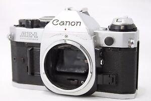 Canon AE-1 Program 35mm SLR Film Camera Body Only #Z014c