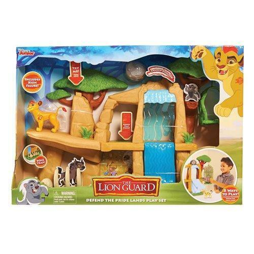 Just Play Lion Guard Defend the Pride Lands Playset