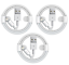 3X-Genuine-Original-OEM-Apple-iPhone-XS-Max-X-8-7-6S-Lightning-Cable-Charger-1M thumbnail 1