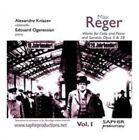 Reger Werke Für Cello Klavier 1 Kniazev Audio CD