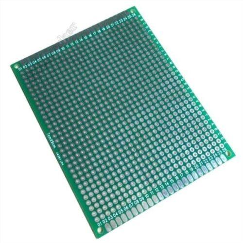 5Pcs Double Side Protoboard Circuit Universal Board 7CMX9CM L Prototype Pcb N pc