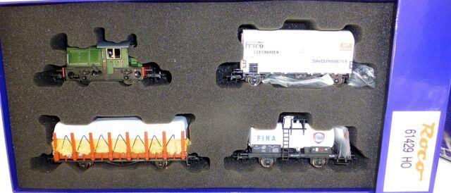 NS Serie 200 300 Tren Mercancías Set epiii DSS NEM ROCO 61429 H0 1:87 emb.orig