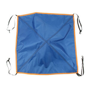 Replacement Tent Top Cap Rain Protection Roof Vent Cover Blue