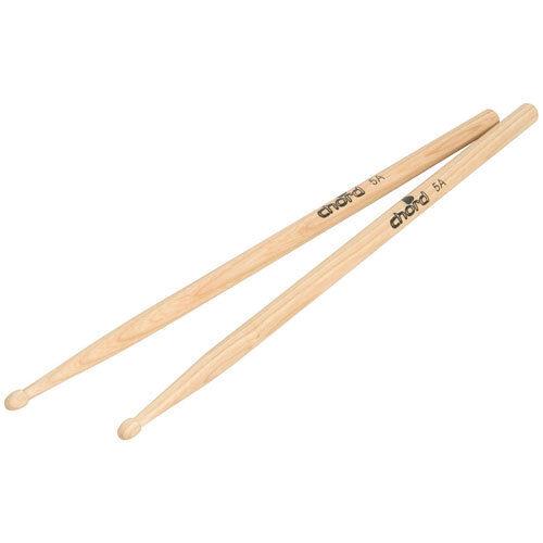 5A 405 x 15mm Wood Drumsticks Pair Wooden Drum Sticks