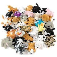 50 Plush Mini Bean Bag Animals Assortment Party Favor Kids Stuffed Prize Toy
